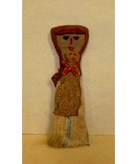 Vintage Large  Peruvian Chancay Burial Grave Doll Folk Art Circa 1950 -1... - $120.00