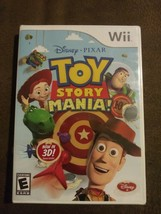 Toy Story Mania (Nintendo Wii 2009) w/ 3D Glasses Disney Pixar Rated E NIP - $38.99