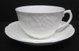 Coalport Countryware Cup & Saucer Excellent Shape Cabbage Leaf Design - $14.36