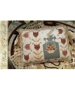 Tulip Festival cross stitch chart With Thy Needle Brenda Gervais  - $10.80
