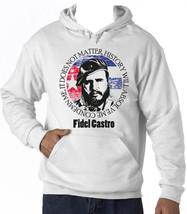 FIDEL CASTRO CONDEMN ME - NEW COTTON WHITE HOODIE - $38.71