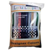 Lotta Loops Traditional Size Designer Colors 15oz Bag By Harrisville Des... - $24.75