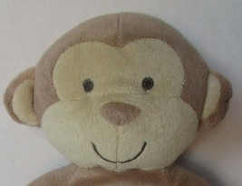 """10"""" Just One You Tan Monkey Plush Carters Lovey Baby Brown Stuffed Animal 92914 - $31.27"""