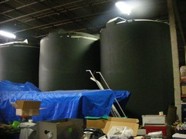 12,000 Gallon Poly Processing Vertical Storage Tank in NJ - $11,999.00