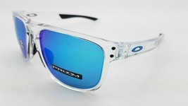 Oakley Holbrook R Sunglasses OO9377-0455 Clear Frame W/ Prizm Sapphire Lens - $94.04