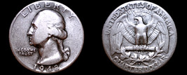 1948-D Washington Quarter Silver - $10.99