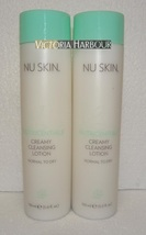 Two pack: Nu Skin Nuskin Creamy Cleansing Lotion (Normal to Dry) 150ml 5fl oz x2 - $42.00
