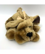 """Kids Preferred Hound Puppy Dog 10"""" Laying Super Soft Plush With Bow - $24.70"""
