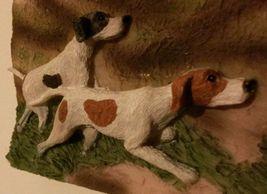 """NEW Dog Ceramic Plaque, 5.5"""" x 4.5"""", 3D, POINTER DOG, FOXHOUND, BEAGLE image 2"""