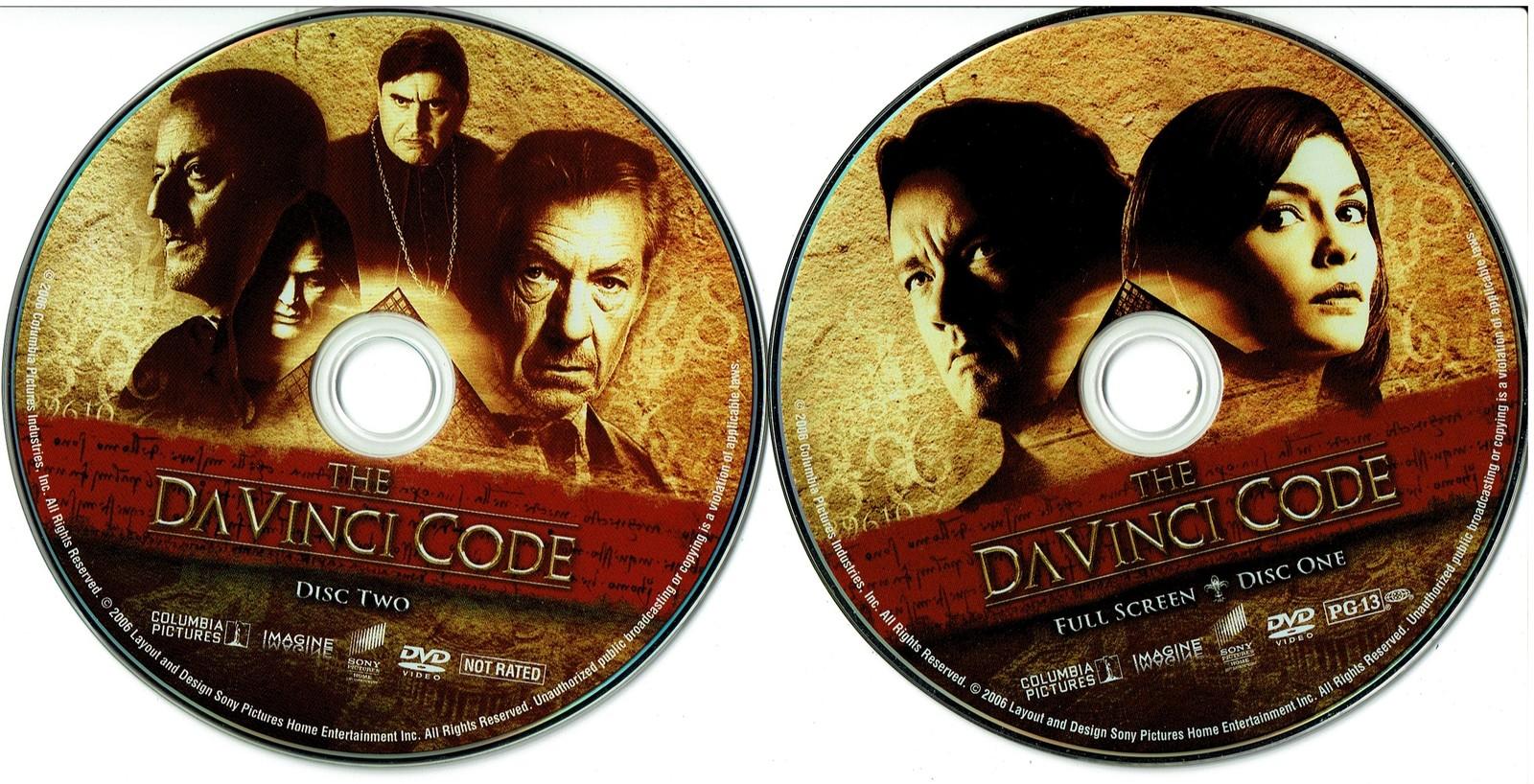 The Da Vinci Code, Special Edition (DVD 2006) Tom Hanks, Full Screen