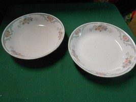 Great Universal Pottery.... Imperial's China 2 Soup Bowls - $5.26