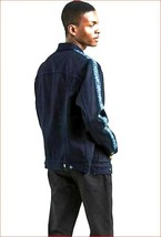 new Levi's men jean jacket Made & Crafted 289430016 navy blue sz s MSRP - $73.80