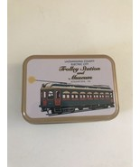 Lackawanna County Trolley PLAYING CARDS In Original Tin SCRANTON PA - $10.44