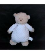 "Mud Pie Mudpie Teddy Bear Pink Polka Dot Lovey Stuffed Animal Plush 10"" - $18.81"
