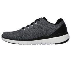 Men Memory shoes Fit Mesh Comfort Sport 52957 Casual Charcoal Skechers Wide Foam R7gwYqX