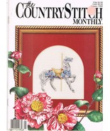 Country Stitch Monthly Journal of Cross Stitch Designs Back Issue Januar... - $6.00
