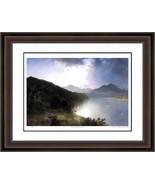 """John Frederick Kensett """"View on the Hudson"""" Print - Hudson River School ... - $405.00"""