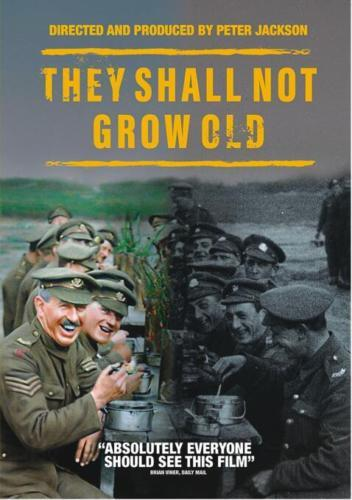 Primary image for They Shall Not Grow Old [DVD New USA Region 1] Peter Jackson Film