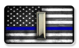Thin Blue Line Sheriff Police Lieutenant Rank Magnet-Package of Two - $8.42