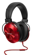 Pioneer High res Sealed dynamic stereo headphone SE-MS5T-R Red - $110.49