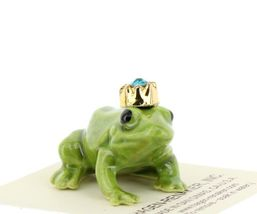 Birthstone Frog Prince December Simulated Zircon Miniatures by Hagen-Renaker image 6