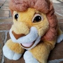 """Vintage Mattel 1993 Lion King Roaring Simba 13"""" Plush Puppet Thick Hair ... - $23.34"""