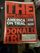 Time Magazine November 18,2019 Impeachment America On Trial By Jon Meacham - $10.00