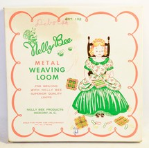 Vintage Nelly Bee Metal Weaving Loom & Instructions Quality Loops - $10.36 CAD