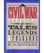 A Civil War Treasury of Tales Legends and Folklore Hardcover Book 1993 VF - $5.94