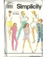Simplicity Sewing Pattern 7264 Misses Womens Top Pants Capris Shorts 6 -... - $9.99