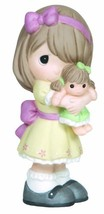 Precious Moments Figurine, Girl Hugging Doll, 133001 - $35.18