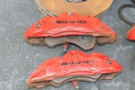 Mercedes CLS63 W219 Front & Rear AMG Brembo 6&4 Piston Brake Calipers & Rotors image 2