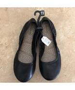 Black Memory Foam Flats Shoes Sz 11 Brand New - $24.99