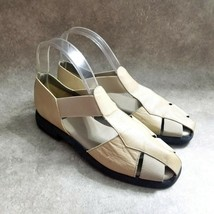 Aerosoles Womens   Size 8.5 B Brown  Leather Slip On Fisherman Sandals - $23.99