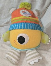 Babyaspen BA11036NA Clyde The Closet Monster Baby Hat And Plush 0 To 6 Months image 1