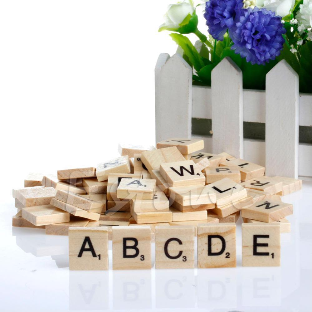 scrabble tiles wooden letters alphabet and 50 similar items