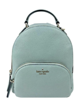 Kate Spade Jackson Medium Backpack Bag Seaside Blue Leather WKRU5946 Pur... - $127.71