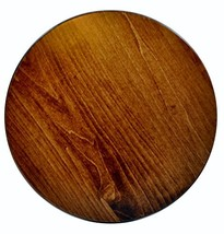 Wood Lazy Susan Turntable - Solid Wooden Spinning Kitchen Table Organize... - $54.63