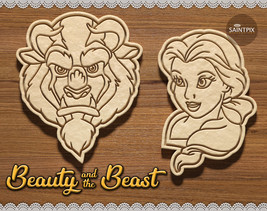 Beauty and the Beast Set. Belle Cookie Cutter. Disney. 3D Print. Stamp. ... - $9.99+