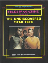 Files Magazine The Undiscovered Star Trek Book 4, 1987 - $6.85