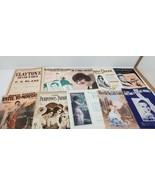 Great Sheet Music Lot (10) fair Condition (b1)a - $9.90
