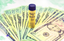 Haunted WITCH'S PURSE MONEY MAGNET DRAWING OIL MAGICK WITCH CASSIA4 - $67.77