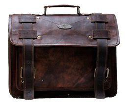 Handmade_World Men's Leather Messenger Bag Laptop Computer Handmade Bag image 6