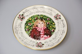 Vintage Royal Doulton annual Christmas holiday collector plate 1983 Silent Night - $31.31