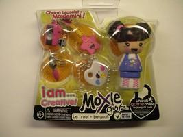 Moxie Girlz Charm Bracelet & Moxie Mini - I AM . . . CREATIVE - $9.89