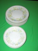 Vintage 12 Pc  Salad & Bread Plates Noritake Essence #2606 - $64.35