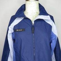 New Columbia Saskatoon Interchange Women's M Packable Jacket Blue - $34.62