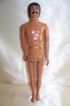 "1976 Mego Sonny Bono 12"" figure Nude - $10.32"