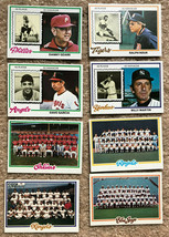 1978 Topps Baseball Cards - 8 Assorted Cards As Shown - $5.00