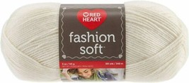 Red Heart Fashion Soft Cream Knitting & Crochet Yarn - $8.00